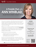 VLAB Founders Series - Ann Winblad